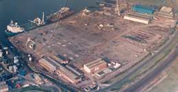 Wharf Facilities at C L Prosser